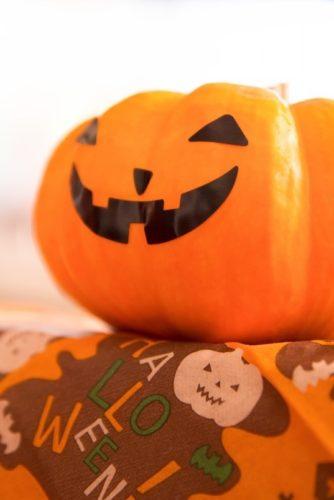 かぼちゃ福笑い