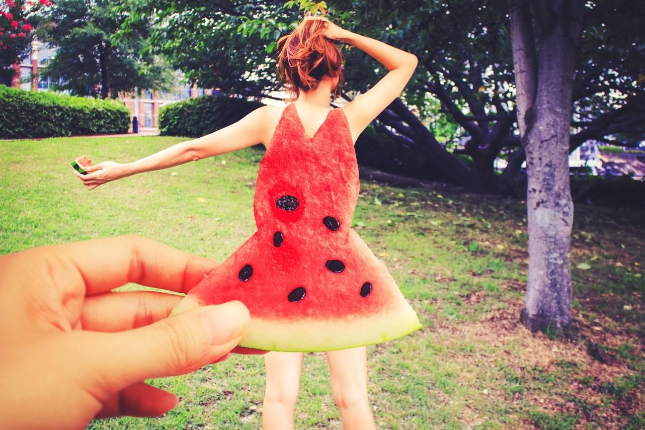 フルーツドレスの作り方