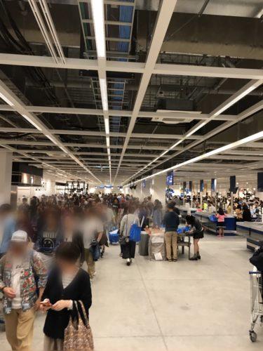 IKEA長久手は混雑してる?