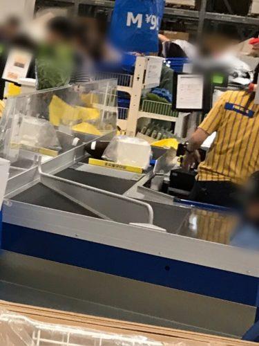 IKEA長久手のレジ