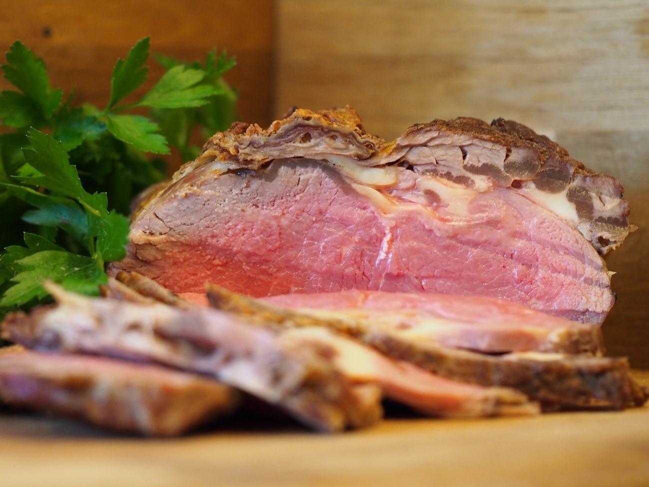おせちのローストビーフ 盛り付け方法とお重への詰め方、簡単レシピ