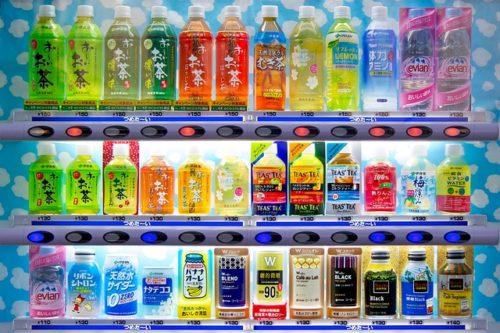 名古屋港水族館に自動販売機はある?