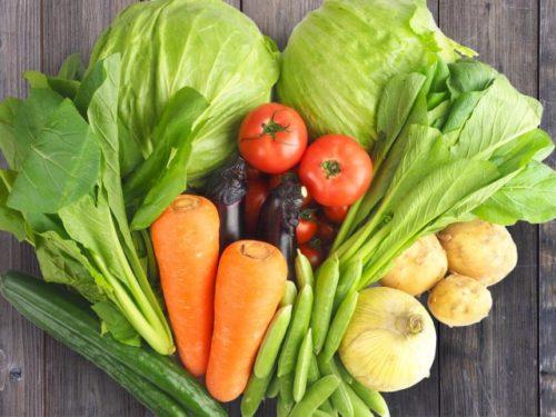 地鎮祭の野菜は?