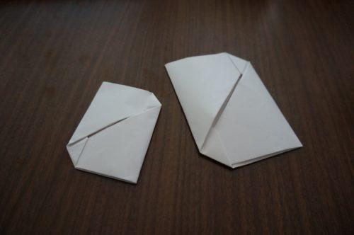 手紙を小さく3