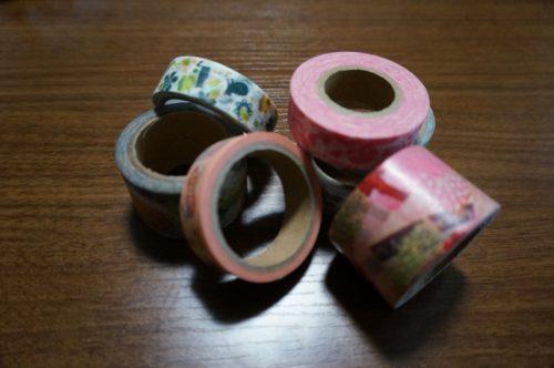 母の日 メッセージカードをマスキングテープで飾るには?
