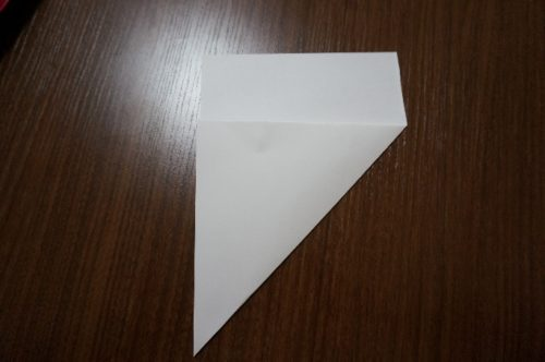 手紙を正方形にする方法2