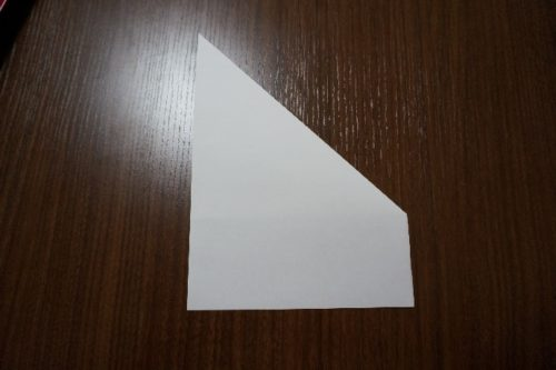 手紙を正方形にする方法3