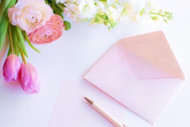 手紙の折り方 花は?難しいの?花束を作る方法もご紹介!