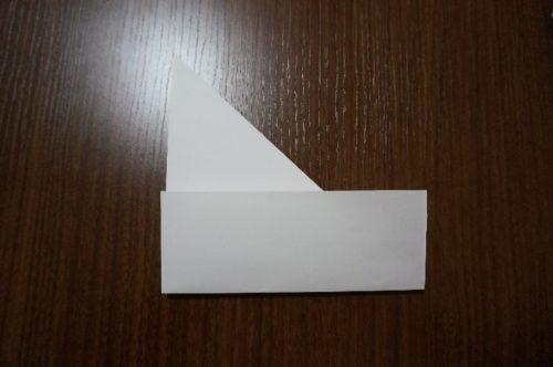 手紙を正方形にする方法4