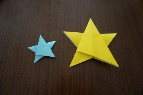 星の折り方で切らない方法もある?