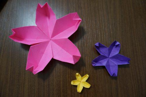桜の花びらの折り方は?どうやって折るの?