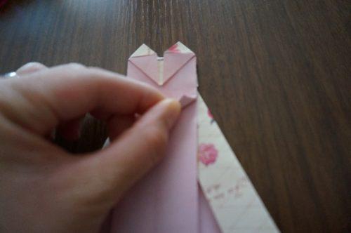 ドレスの折り方23