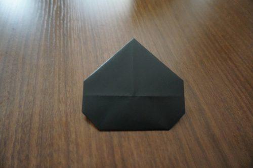 ミッキーの頭の折り方15