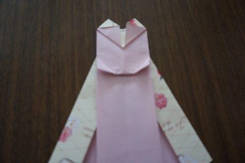 ドレスの折り方23-3