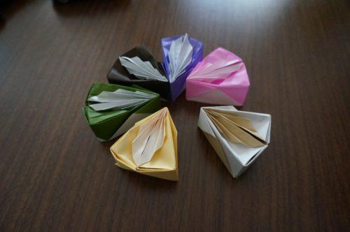 ケーキの立体的な折り方ってある?詳しいやり方は?