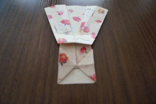 ドレスの折り方18-3