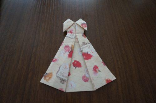 ドレスの折り方27