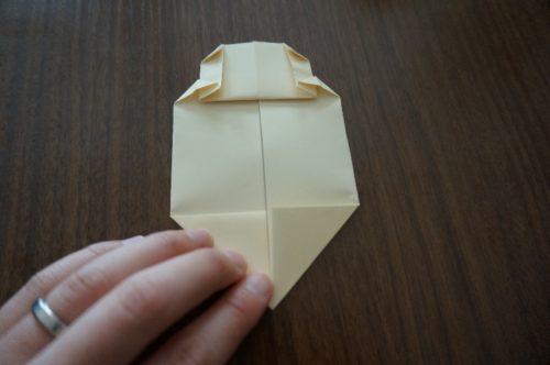 ミッキーの顔の折り方12
