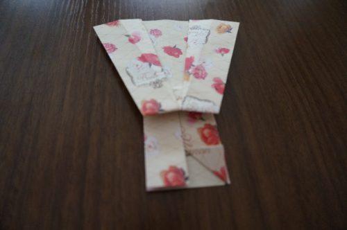ドレスの折り方17-2