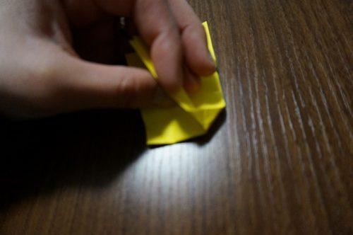 キャンディの折り方を簡単にする