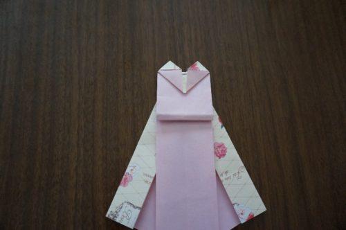 ドレスの折り方22