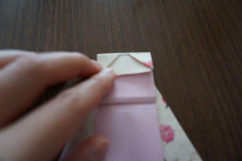 ドレスの折り方20