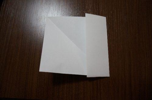 正方形の折り方6
