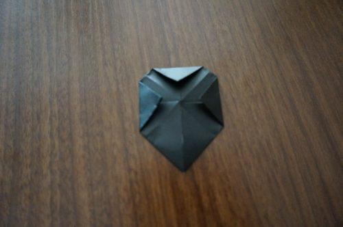 ミッキーの耳の折り方8