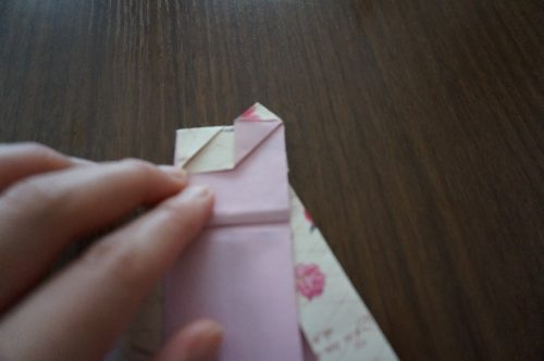 ドレスの折り方21-3