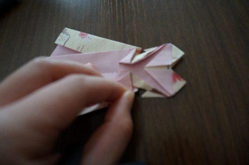 ドレスの折り方26