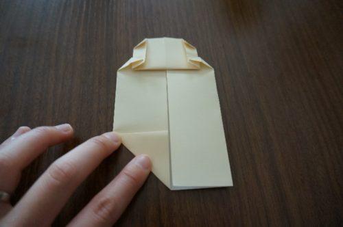 ミッキーの顔の折り方11