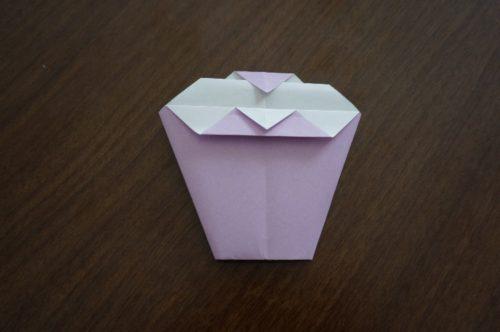 ケーキの折り方14