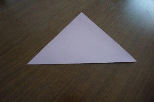 ケーキの折り方1