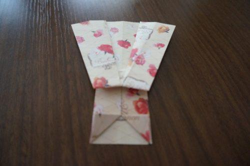 ドレスの折り方17-3