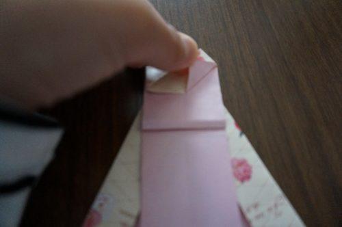 ドレスの折り方21-2
