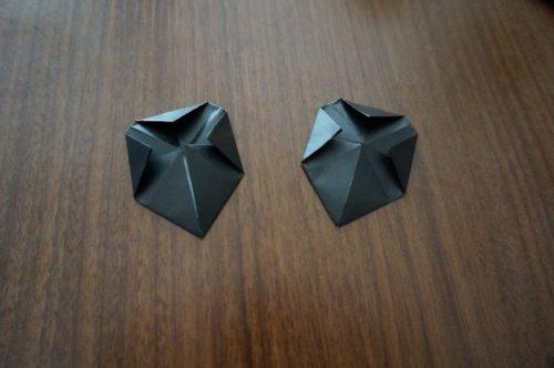 ミッキーの耳の折り方9