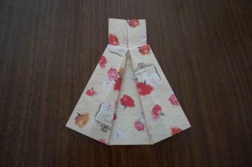 ドレスの折り方15