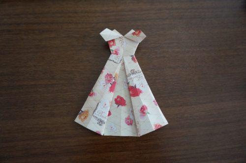 ドレスの折り方29