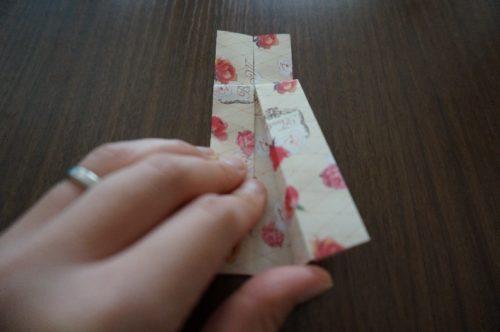 ドレスの折り方14