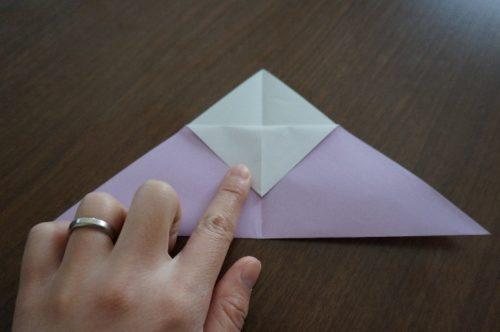 ケーキの折り方4