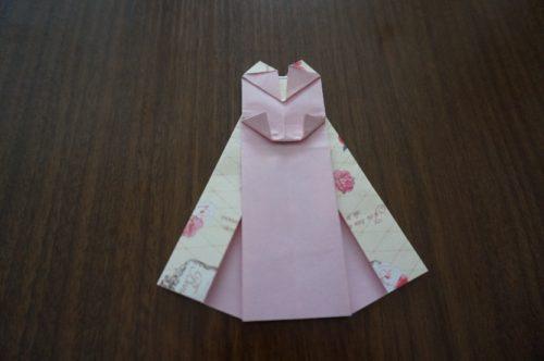 ドレスの折り方23-2