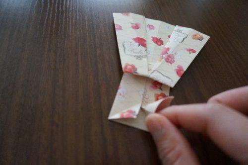 ドレスの折り方18