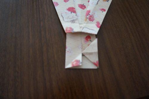 ドレスの折り方18-2