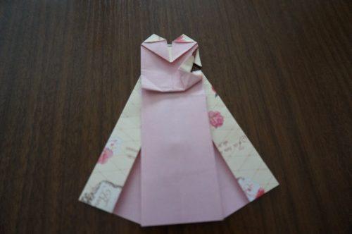 ドレスの折り方24-2
