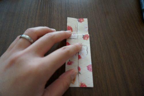 ドレスの折り方13