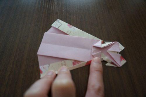 ドレスの折り方26-2