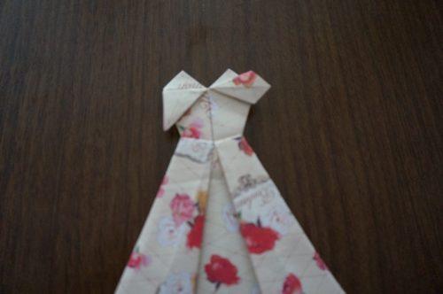 ドレスの折り方28-2