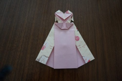 ドレスの折り方24-3
