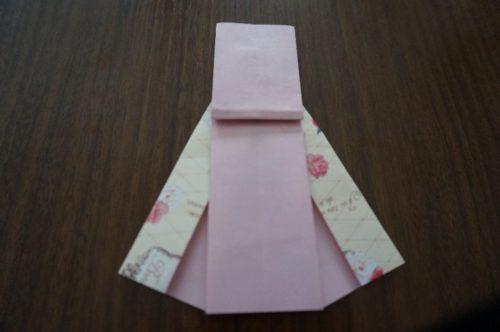 ドレスの折り方19
