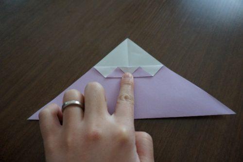 ケーキの折り方6